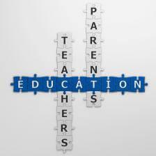 Parents Teachers School Jigsaw