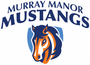 Murray Manor Mustangs logo