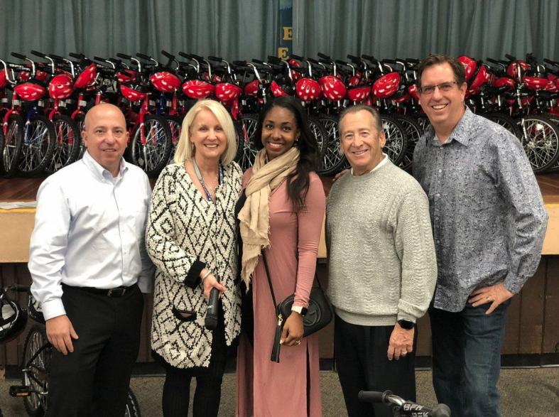 CDO Bike Give Away to Over 100 Students