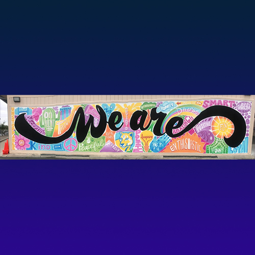 Mural - We are