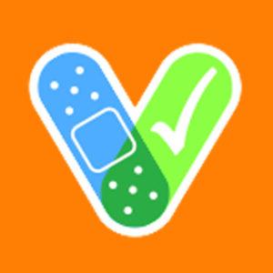 I Got My Covid 19 Vaccine! Orange Stickers